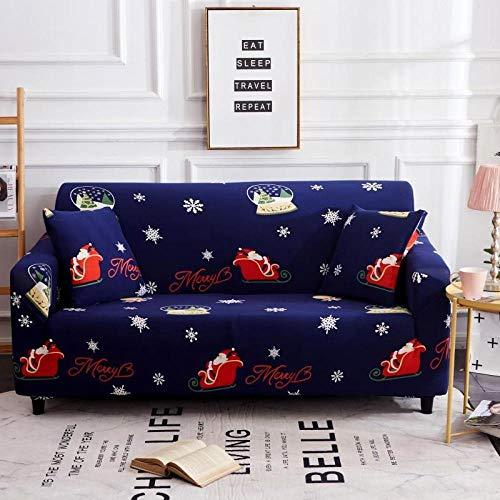 Universal Cubierta para Sofá,Funda de sofá con patrón impreso, funda de sofá elástica antideslizante, cojín de sofá universal para todas las estaciones, funda protectora de muebles de sala de estar-C