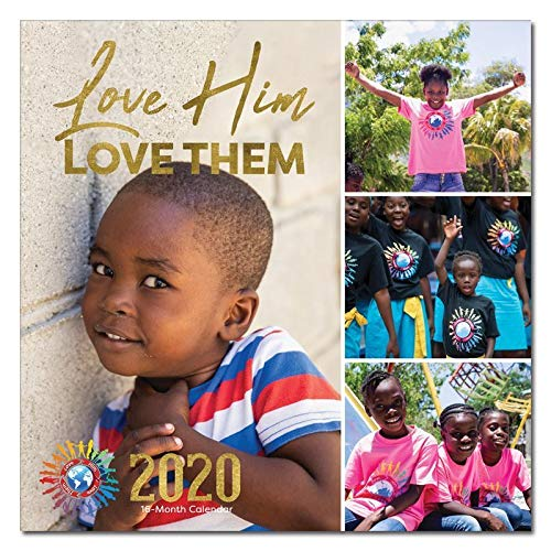 African American Expressions 2020 Wall Calendars - 2020-2021 Monthly Calendars Celebrating Black Culture & History - 12x12 Hanging Calendar - 16 Months - Love Him Love Them