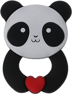 Biuuu BPAのシリコーンのおしゃぶりのおもちゃなしのパンダの赤ん坊のteetherペンダントネックレスのアクセサリー
