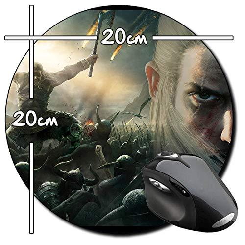 Viking Battle For Asgard Rund Mauspad Round Mousepad PC