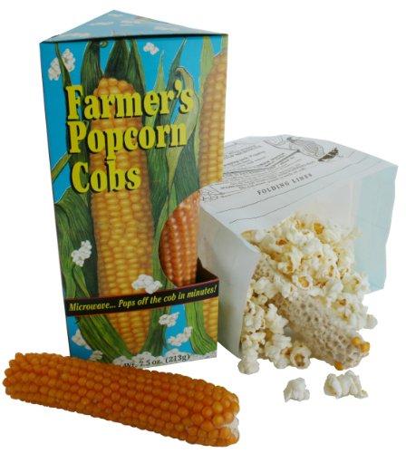 Why Choose FARMER'S POPCORN COB (2.5oz)- Microwavable Popcorn Pack of 8