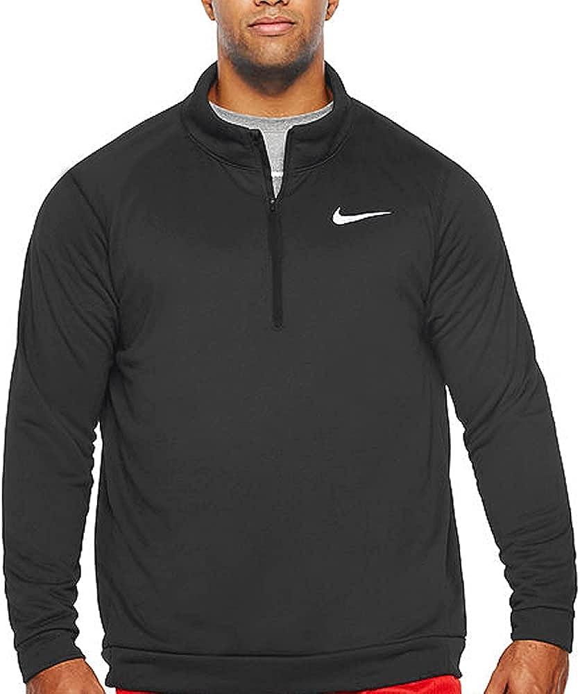 2021new shipping free shipping Nike Men's Superset 1 Cheap mail order sales 4 Sleeve Long Shirt Zip