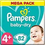 Pampers Baby-Dry Pants Couches Taille:4+, 82 culottes