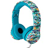 Snug Play+ Kids Headphones Volume Limiting and Audio Sharing Port (Beach)