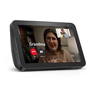 Echo Show 8 -- HD smart display with Alexa  stay connected with video calling - Charcoal