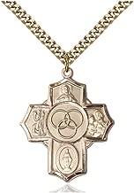 John The Apostle Pendant DiamondJewelryNY Sterling Silver St