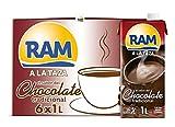RAM Chocolate Lquido a la Taza - 6 x 1 L - Total: 6 L