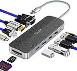 TSUPY Hub USB C 11-Porta con Adattatore Tipo...