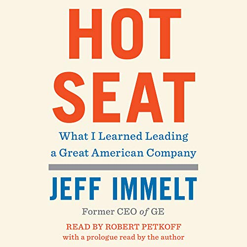 Hot Seat Audiobook By Jeff Immelt, Amy Wallace - contributor cover art