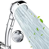 Nosame Shower,High Pressure Handheld Shower Head with ON/Off Pause Switch 3-Settings Water Saving Showerhead, Chrome Finish Bathroom Shower Accessorie