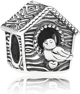 PANDORA Spring Bird House Charm, 797045