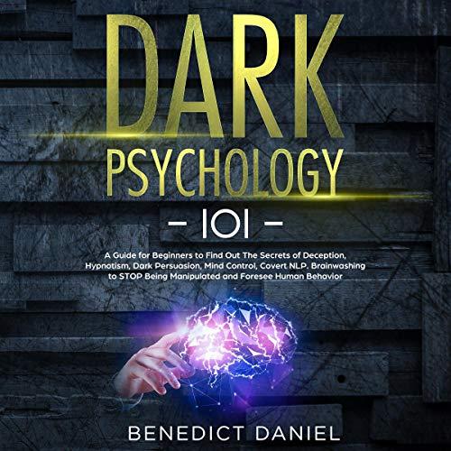 『Dark Psychology 101』のカバーアート