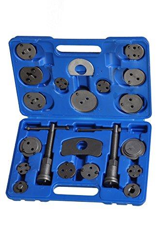 Tech Traders TT21 - Kit di 21 Attrezzi per riavvolgimento pistone Pinza Freno, 21 Pezz