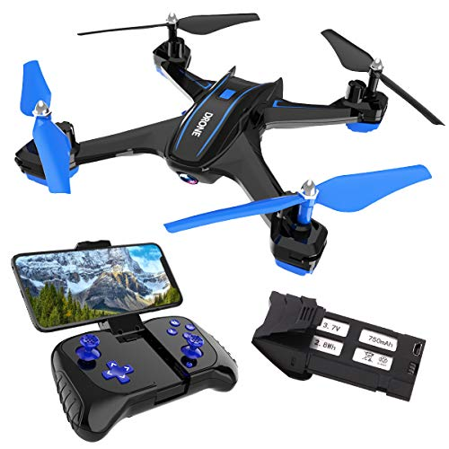 REMOKING RC Drone with 720P FPV Wi-Fi HD Camera Live Video Racing Quadcopter Headless Mode 360°flip 4 Channels Altitude Hold Indoor and Outdoor Sport Game Gifts for Kids and Adults