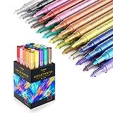 Honmax Acrílico Pintura Rotulador, 24 Colores Rotuladores Acrilicos Permanente,...