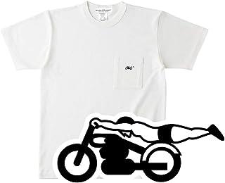 スピードアディクト POCKET T-shirt(SPEED ADDICTポケットTシャツ)NATURAL XXLサイズ