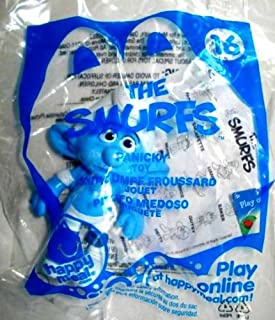 McDonalds - 2011 The Smurfs #16 Panicky Happy Meal Toy