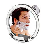 Cheftick Fogless Shower Mirror with Built-in Razor...