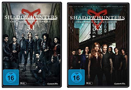 Shadowhunters - komplette Staffel 3 ( 3.1 + 3.2 ) im Set - Deutsche Originalware [6 DVDs]