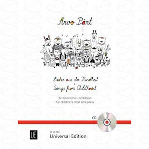 liedjes uit de kindertijd - gearrangeerd voor kinderchor - piano - met CD [noten/Sheetmusic] Component: PAERT ARVO