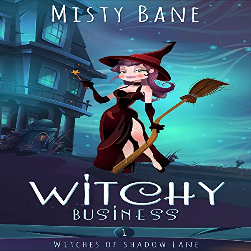 Witchy Business audiobook cover art
