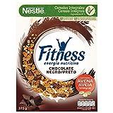 Cereales Nestlé Fitness con Chocolate negro - 1 paquete de 375g