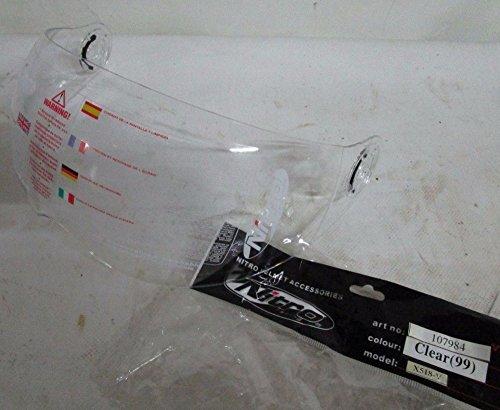 Visera original Nitro transparente para casco Jet Nitro N 500 V – N 600 V – N 700 V