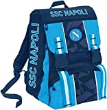 SSC NAPOLI Napoli Sprint Mochila escolar 41 centimeters Azul (Dresden Blue)