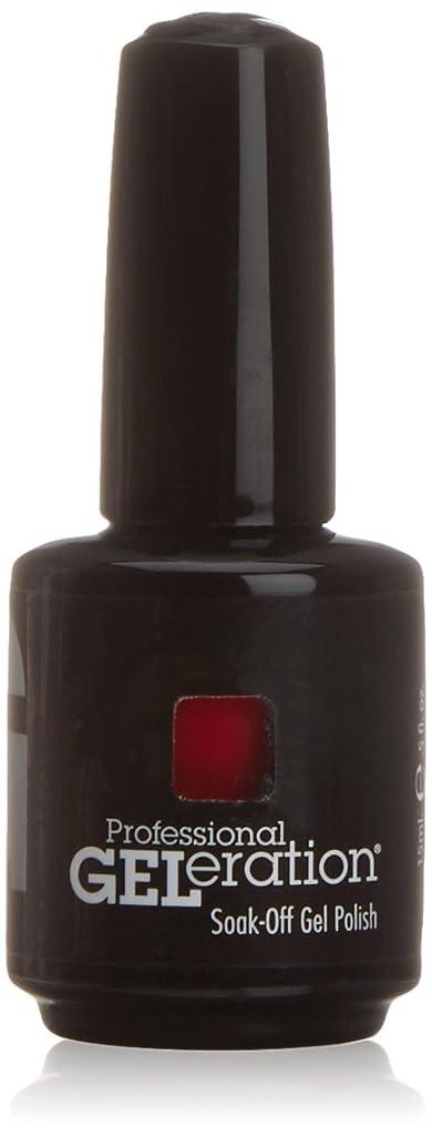 見えない提案バトルジェレレーションカラー GELERATION COLOURS 120 C ロイヤルレッド 15ml UV/LED対応 ソークオフジェル