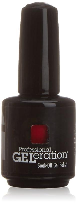キャンドルコーデリア雑種ジェレレーションカラー GELERATION COLOURS 120 C ロイヤルレッド 15ml UV/LED対応 ソークオフジェル