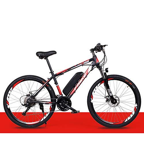 ZLZNX VéLo de Montagne éLectrique, Vélos de Route, Vélos de Ville, Batterie au Lithium Haute Efficacité 36v / 8ah,A