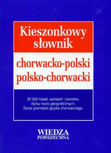 Kieszonkowy słownik chorw.-pol., pol.-chorw.