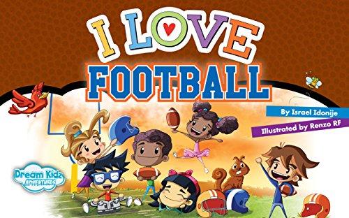 I Love Football: Team Cover (I Love Series) (English Edition ...