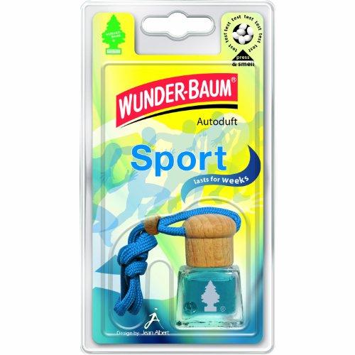 WUNDER-BAUM 461203/4 Lufterfrischer 4-er Set Duftflakon Sport