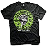Gas Monkey Garage Officially Licensed - Logo Verde T-Shirt Camiseta T Shirt GMG - 100% Oficial (XX-Large)