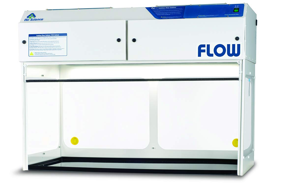 New Shipping Free Shipping Purair FLOW FLOW-48 Vertical Long Beach Mall Laminar 4' Wide Flow Hood