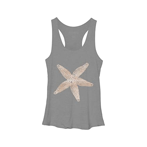 c6be181bcfd847 Design By Humans Watercolor Starfish Women s Racerback Tank Top