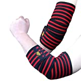 Best Elbow Wraps - DMY Elbow Sleeve Wraps-Elbow Straps Brace For Support Review