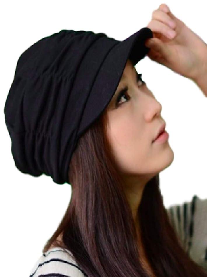 資格近代化セグメント[メテオラマート] シンプル レディース 帽子 キャップ ハット キャスケット