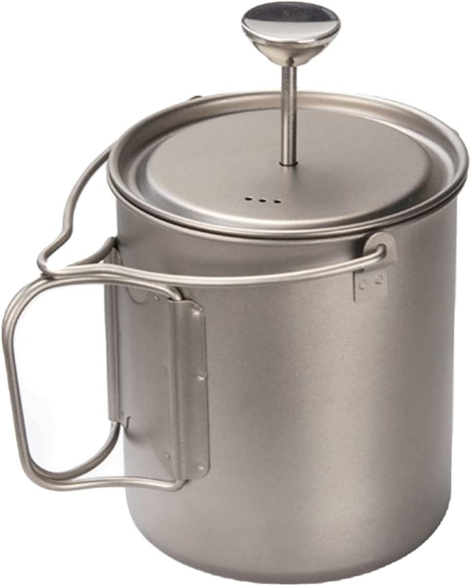 BIVOUAC 25.40oz 750ml Titanium Cup Pot F Camping Coffee SALE Outdoor 売買