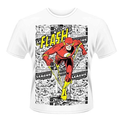 Dc Comics: Flash: Comic Strip (T-Shirt Unisex Tg. XL) [Italia]