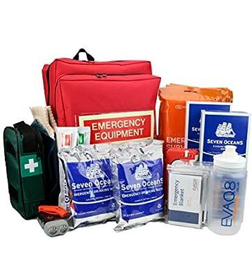 EVAQ8 4 Person Go Bag for Emergency Preparedness 72 Hour Kit from EVAQ8