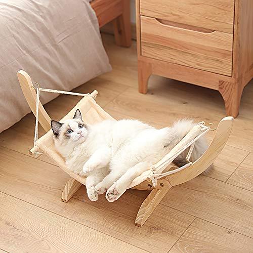 QJJML KatzenhäNgematte, Katzenschaukel, SchlafzubehöR FüR Katzen, Leicht Zu Platzieren, Fest Und Stark,D