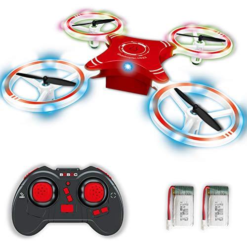 Boboo Mini RC Drone pour enfants, quadricoptère pliable avec mode de maintien de l'altitude, décollage et atterrissage à une touche, mode sans tête et flips 3D, facile à piloter pour les débutants.