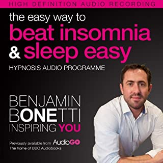 The Easy Way to Beat Insomnia and Sleep Easy with Hypnosis audiobook cover art