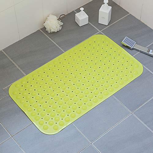 Hcxbb-e badmat van antislip rubber, sfeervol met antibacterieel voor douchecabine met sterke zuignappen met handgreep