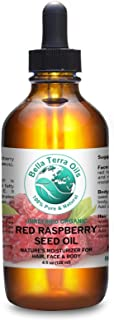 Red Raspberry Seed Oil 4 oz 100% Pure Cold-pressed Unrefined Organic - Bella Terra Oils