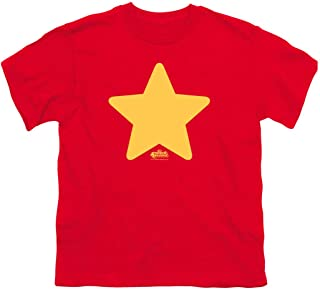 Steven Universe Star Cartoon Network Youth T Shirt & Stickers