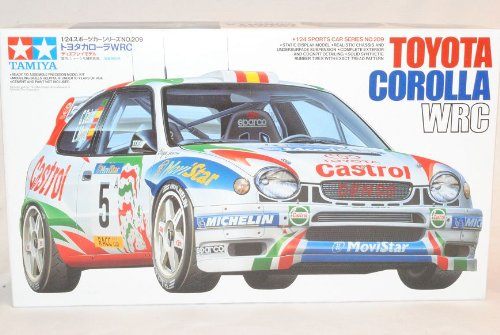 TAMIYA Toyota Corolla E11 WRC Rally Sainz 1997-2002 24209 Kit Bausatz 1/24 Modell Auto Modell Auto