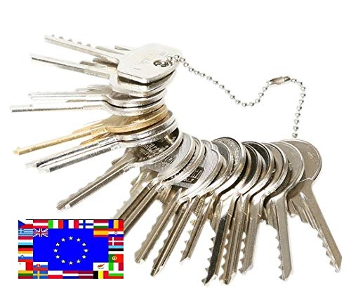 Kit de 16 llaves bumping Bump-Keys para cerraduras de serreta - España Kit C